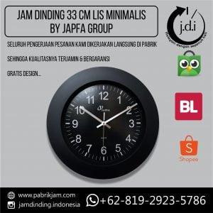 Jam Dinding 33 cm Lis Lebar Japfa Group