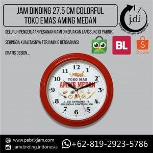 Pabrik Jam Jam Dinding Promosi 27.5cm Aming Medan