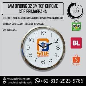 Jam Dinding Promosi 32 cm Top Chrome STIE PRIMAGRAHA