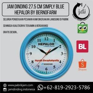 JAM DINDING PROMOSI 27.5 CM HEPALOR