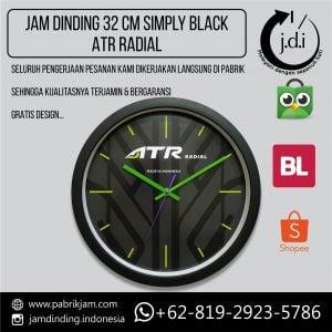 JAM DINDING PROMOSI 32 CM ATR RADIAL