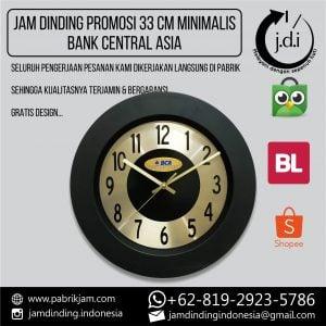 JAM DINDING PROMOSI 33 CM MINIMALIS BCA