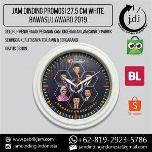 JAM DINDING PROMOSI 27.5CM BAWASLU AWARD 2019